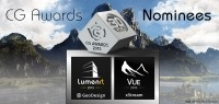 e-on software news: Not One - But Two e-on Products Nominated for 2015 CGAward!