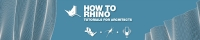 How to Rhino, new podcast for architects